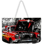 1957 Chevy Bel Air Weekender Tote Bag