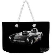 1957 Corvette Drag Car Weekender Tote Bag