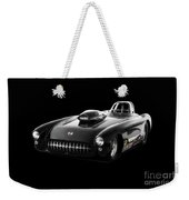 1957 Corvette Drag Car Weekender Tote Bag