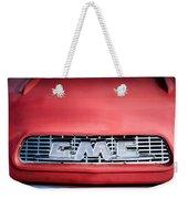 1957 Gmc Pickup Truck Grille Emblem -0329c1 Weekender Tote Bag