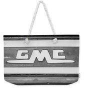 1957 Gmc Pickup Truck Tail Gate Emblem -0272bw2 Weekender Tote Bag