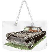 1957 Lincoln Continental Mk II Weekender Tote Bag