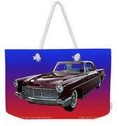 1957 Lincoln M K I I Weekender Tote Bag