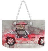 1957 Mercedes Gullwing Weekender Tote Bag