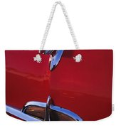 1957 Oldsmobile Hood Ornament 4 Weekender Tote Bag