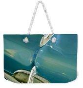 1957 Oldsmobile Hood Ornament 5 Weekender Tote Bag