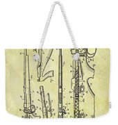 1957 Rifle Patent Weekender Tote Bag