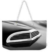 1957 Thunderbird Scoop Black And White Weekender Tote Bag