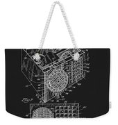 1958 Air Conditioner Patent Weekender Tote Bag