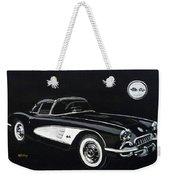1958 Chev Corvette Weekender Tote Bag