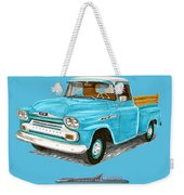 Apache Pick Up Truck Weekender Tote Bag