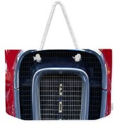 1958 Edsel Hood Ornament  Weekender Tote Bag