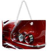 1958 Impala Tail Lights Weekender Tote Bag
