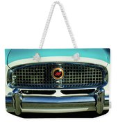 1958 Nash Metropolitan Hood Ornament 2 Weekender Tote Bag