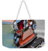 1958 Pontiac Bonneville Taillights Weekender Tote Bag