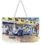 1958 Targa Florio Porsche 718 Rsk Behra Scarlatti 2 Place Weekender Tote Bag