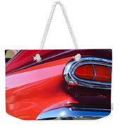1959 Chevrolet Biscayne Taillight Weekender Tote Bag