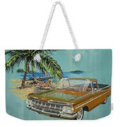 1959 Chevrolet El Camino Weekender Tote Bag
