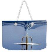 1959 Continental Mark II Hood Ornament Weekender Tote Bag