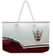 1959 Dodge Custom Royal Super D 500 Emblem Weekender Tote Bag