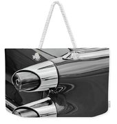 1959 Dodge Custom Royal Super D 500 Taillight -0233bw Weekender Tote Bag
