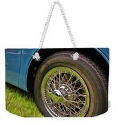 1959 Jaguar X K 150s Wire Wheel Weekender Tote Bag