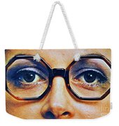 1960 70 Stylish Female Glasses Advertisement 4 Weekender Tote Bag