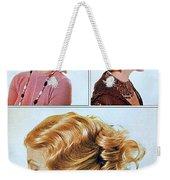 1960 70 Stylish Female Hair Styles Golden Blond Weekender Tote Bag