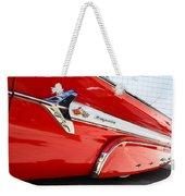 1960 Chevy Impala Low Rider Weekender Tote Bag