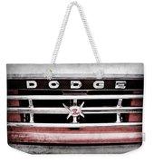 1960 Dodge Truck Grille Emblem -0275ac Weekender Tote Bag