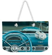 1960 Ford Thunderbird Dash Weekender Tote Bag