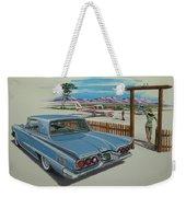 1960 Ford Thunderbird  Weekender Tote Bag