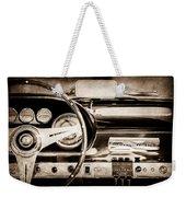 1960 Maserati 3500 Gt Spyder Steering Wheel Emblem -0407s Weekender Tote Bag
