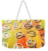 1960s Peace Movement Weekender Tote Bag