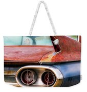 1961 Cadillac Tail Light And Fin Weekender Tote Bag