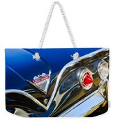1961 Chevrolet Bel Air Impala Ss Bubble Top Tail Light Emblem -0249c Weekender Tote Bag