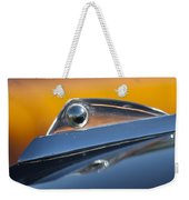1961 Ford Starliner Hood Ornament Weekender Tote Bag