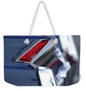 1962 Cadillac Deville Taillights Weekender Tote Bag