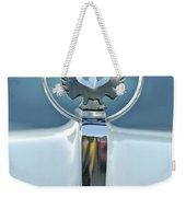 1962 Chrysler Imperial Hood Ornament Weekender Tote Bag