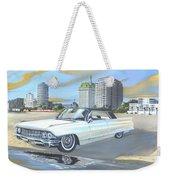 1962 Classic Cadillac Weekender Tote Bag