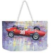 1962 Ricardo Rodriguez Ferrari 156 Weekender Tote Bag