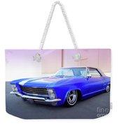 1963 Buick Riviera Weekender Tote Bag