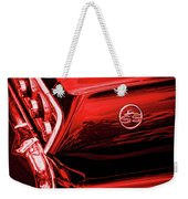 1963 Chevrolet Impala Ss Red Weekender Tote Bag