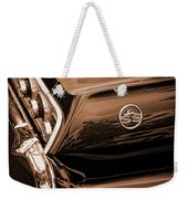 1963 Chevy Impala Ss Sepia Weekender Tote Bag