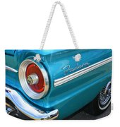 1963 Ford Falcon Tail Light And Logo Weekender Tote Bag