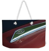 1963 Ford Galaxie Hood Ornament Weekender Tote Bag