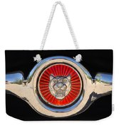 1963 Jaguar Xke Roadster Emblem Weekender Tote Bag