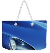 1963 Jaguar Xke Roadster Headlight Weekender Tote Bag