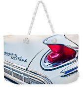 1963 Mercury Meteor Taillight Emblem Weekender Tote Bag