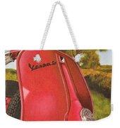 1963 Vespa 50 Weekender Tote Bag